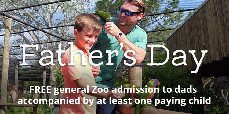 Father's Day Free Zoo Admission