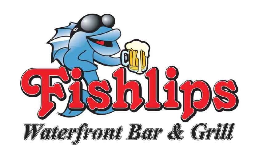 Fishlips Waterfront Bar & Grill logo