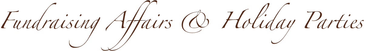 Fundraisers & Holiday Parties logo