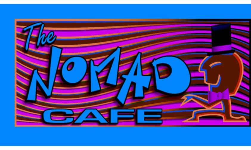 The Nomad Cafe logo