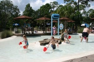 Indian River Play Lagoon overview of toddler area