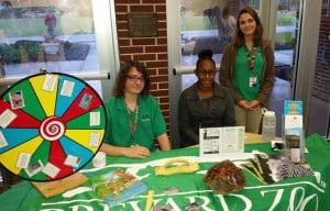 Zoo Teens host a booth at a community event