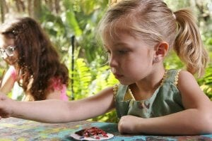 Young girl in Artful Adventures camp