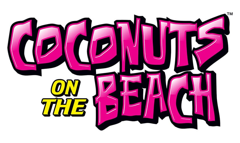 Coconuts on the Beach logo