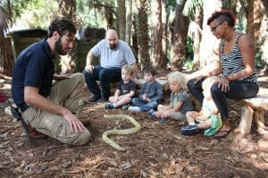 Families in Family Nature Camp