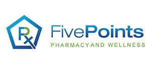 Five Points Pharmacy and Wellness logo
