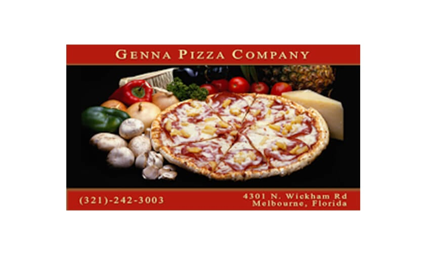 Genna Pizza logo