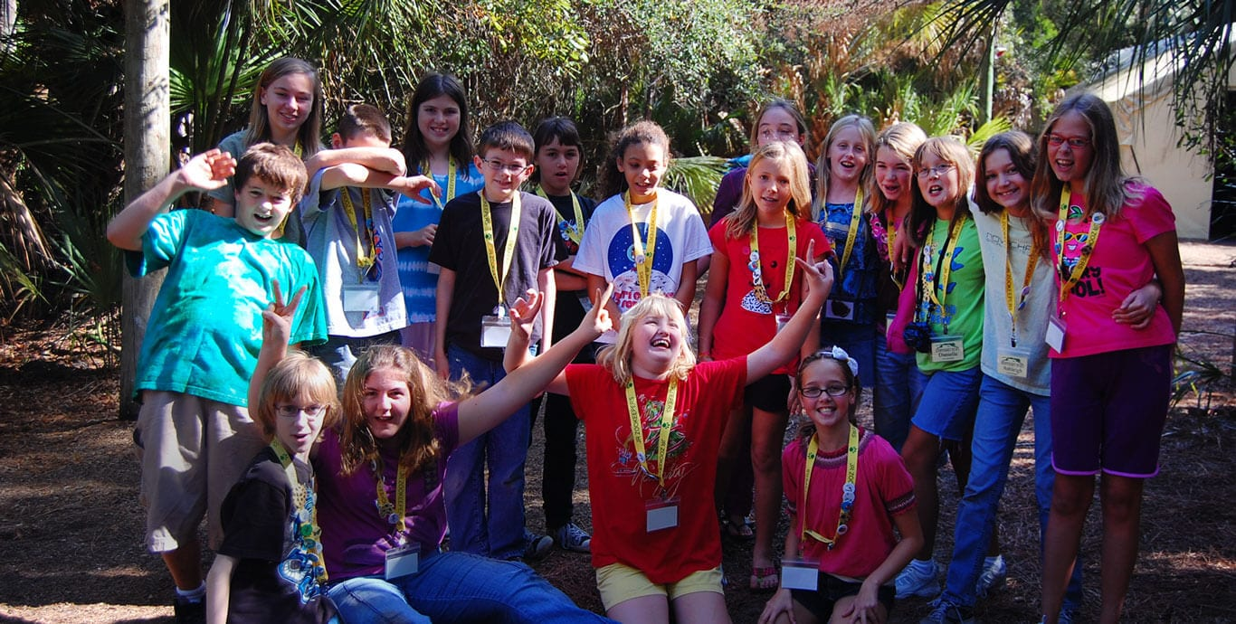 Group of Jr. Zookeepers