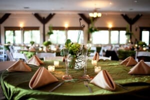 Tabletop wedding decoration