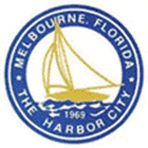 Melbourne the Harbor City logo