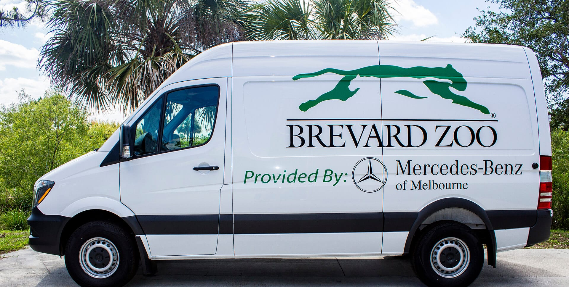 Mercedes-Benz of Melbourne Van donated to Brevard Zoo