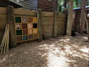 Sensory board play area