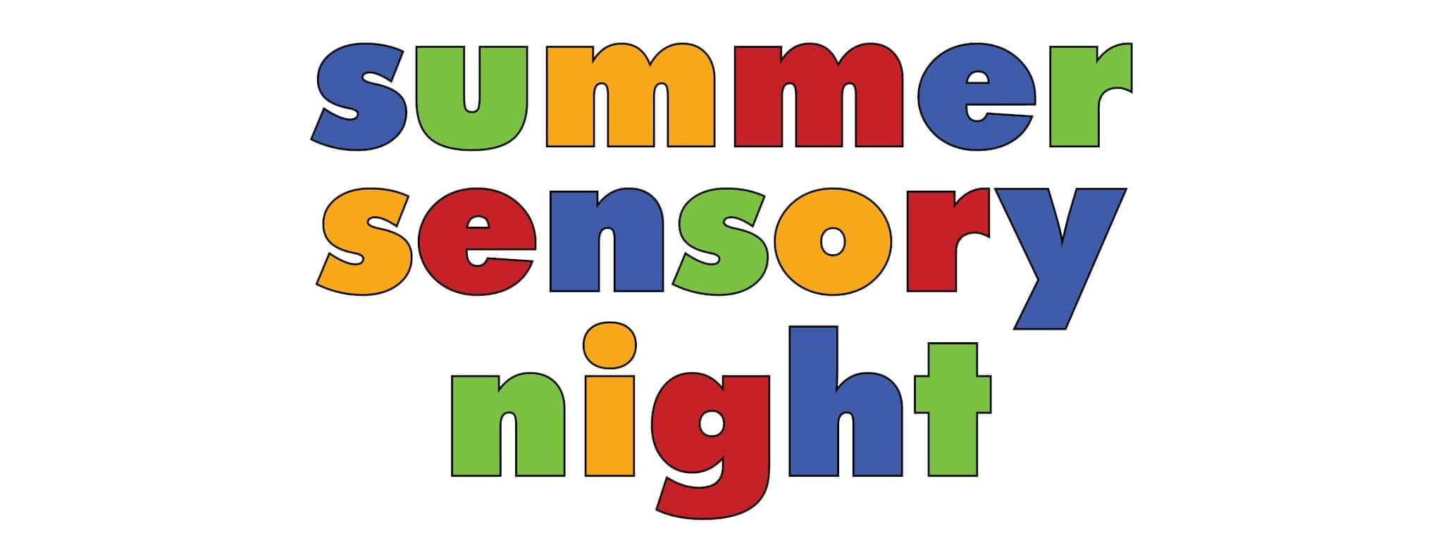 Summer Sensory Night logo