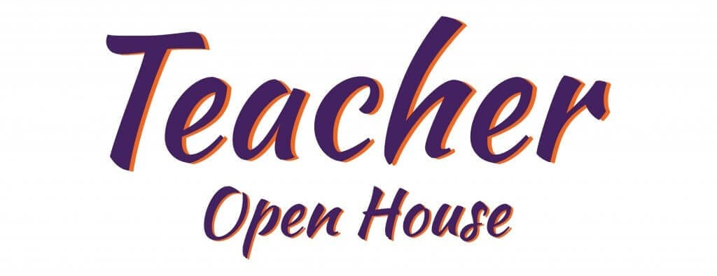 Teacher Open House logo