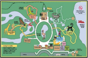 Map of Zoo